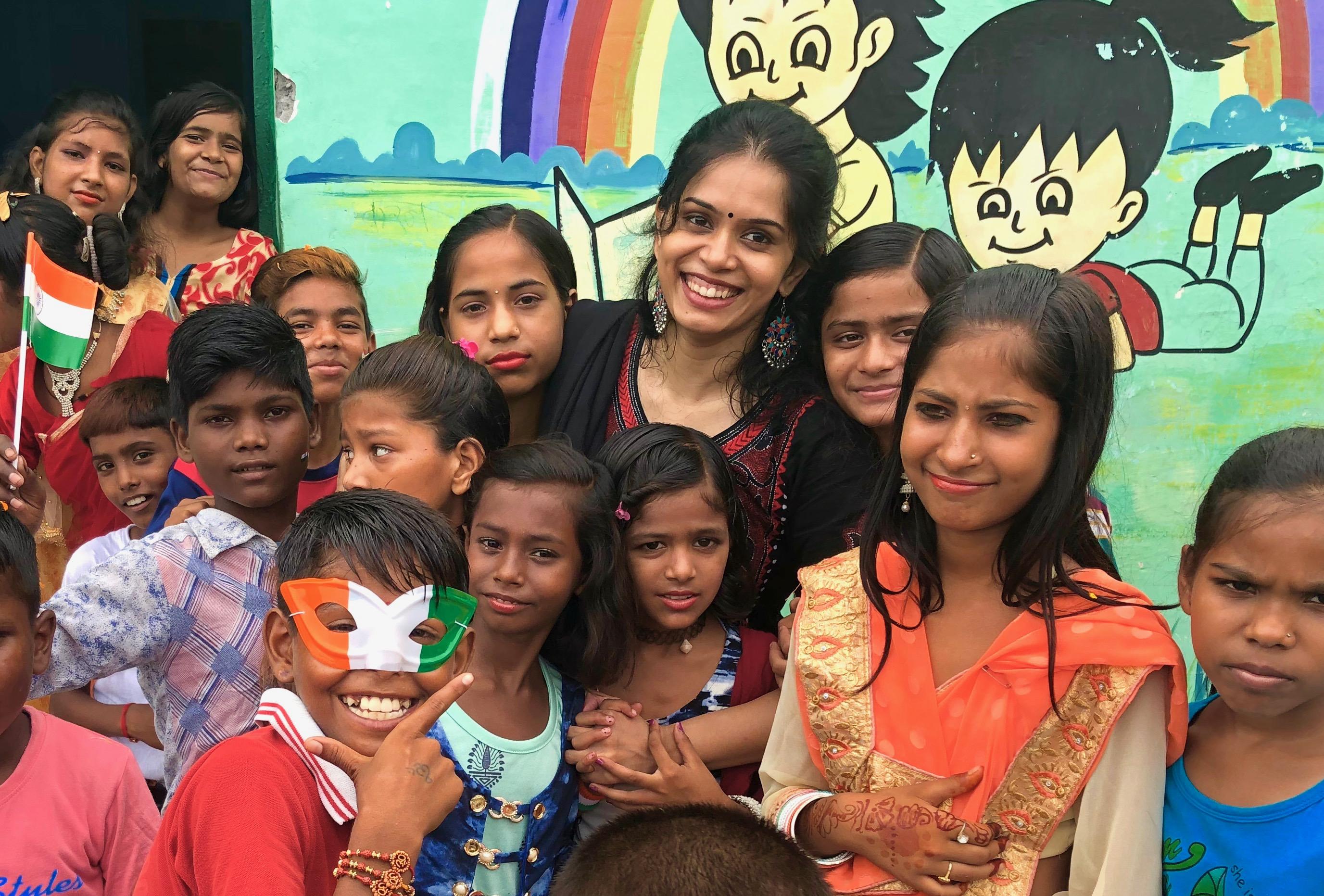 Sunday Class : A window of the world for underprivileged , by Antara Sarkar